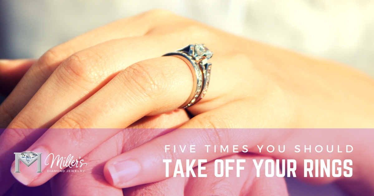 Five Times You Should Take Off Your Rings